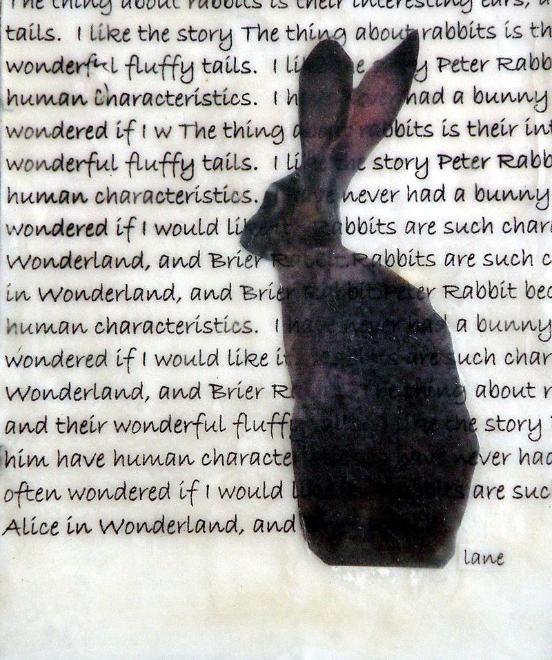 Bunny in Wax2