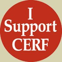 CERF sticker