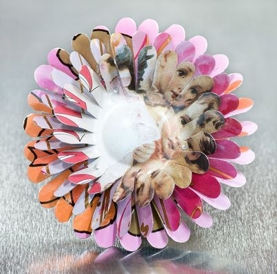April Flower brooch is the perfect gift for Mother's Day.