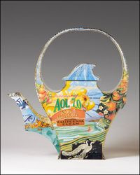California Dream Teapot by Harriete Estel Berman
