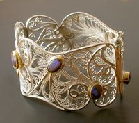 Victoria Lansford Star Dust Sleeve Cuff