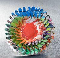 Multi-colored April Flower Brooch by Harriete Estel Berman