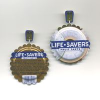 LifeSavers Earrings are one of a kind earrings available for purchase.