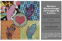 Larissa Dahroug color flier for her exhibition