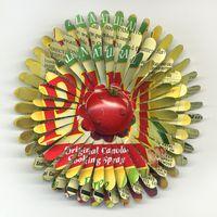 PAM Flower Pins from 2010 by Harriete Estel Berman