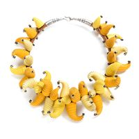 Andrea-Janosik_Yellow_Cone_Necklace