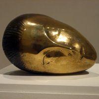 ARMORY'Sleeping_Muse',_bronze_sculpture_by_Constantin_Brancusi,_1910,_Metropolitan_Museum_of_Art