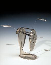 Critics Choice pencil sharpener titled Didactic is constructed by Harriete Estel Berman  as a commentary about art criticism.