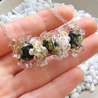 Handmade-Lampwork-Beads-Necklace