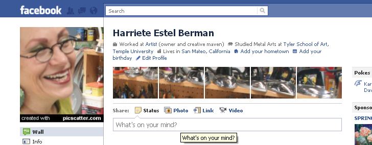 Facebookpicscatter