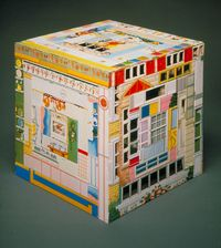 Patc hwork Quilt, Small Pieces of Time by Harriete Estel Berman