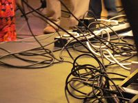 Whole lot of cords