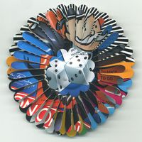 Advance  2  Go  Flower Brooch by Harriete Estel Berman