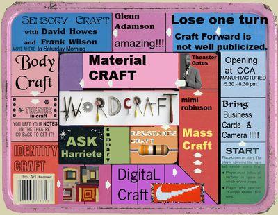 Game Board summary  for Craft Forward SymposiumGR