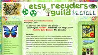 Etsy Recycler's Guild interview of Harriete Estel Berman