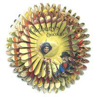 Flower Pin Cadbury Woman Picking Behind the Curtain and Top Hat Man by Harriete Estel Berman72