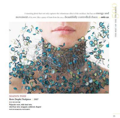 21st Century Jewelry book includes jewelry by  Seainin Passi
