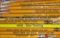 Penci lBrotheres Pencils in Pick Up Your Pencils Begin by Harriete Estel Bermans582bellcurve