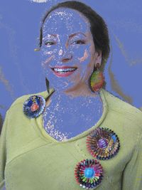 Harriete Blue Face