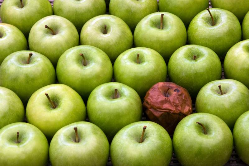 ApplesONE ROTTEN