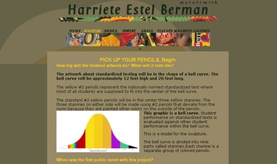 Harriete Estel Berman web site about Pick Up Your Pencils, Begin