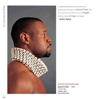 21st Century Jewelry book includes jewelry by PeterHodgeboom