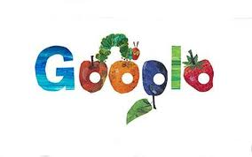 Google version by Eric Carle signature character