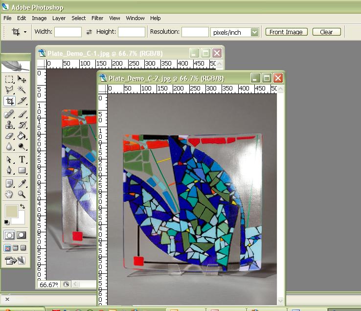 PlateGlarePhotoshop2 images