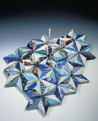 Menorah by Harriete Estel Berman