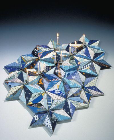 Menorah by Harriete Estel Berman