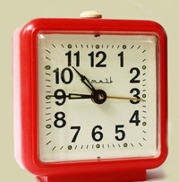 Time how long it takes for your home page to load.  Alarm cllockred