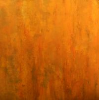 Sungod; 48 x 48 in mixed media board  by JoAnneh Nagler