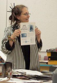 Harriete Estel Berman teaching at a workshopWORKSHOP