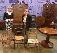 ANTIQUES ROADSHOW where they discuss how to preserve wood furniturefurniture