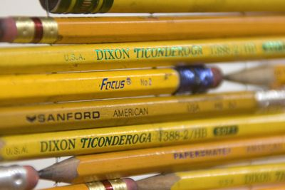Focus Yellow #2 pencils in Pick Up Your Pencils, Begin72