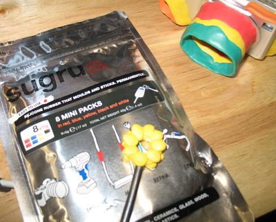 Sugru at the Maker Faire