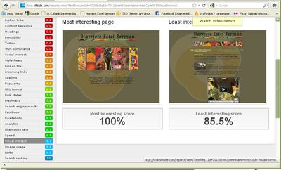 Sitebeam results  for Harriete Estel Berman