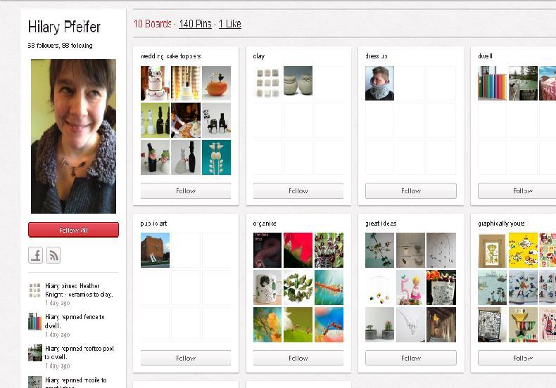 PinterestHillary