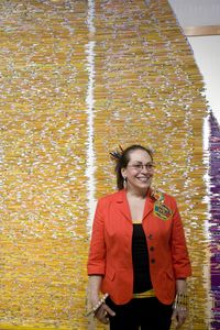 Harriete laughing at Reception3.22.124x6.72