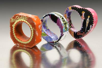 Golden Girl Bracelets by Harriete Estel Berman