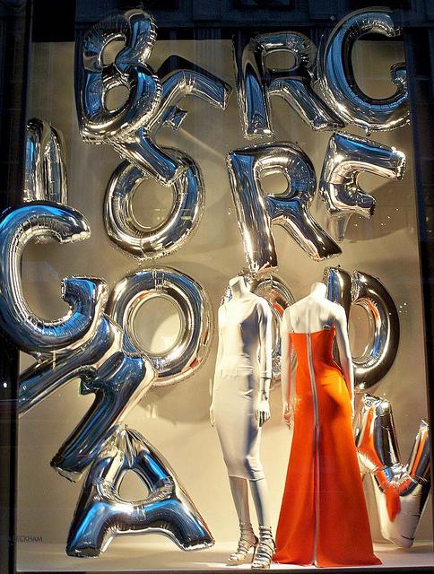 Helium ballonletters