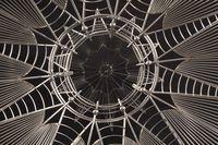 J.Diemer.Gothic Spire Cage Detail Interior Spire Web