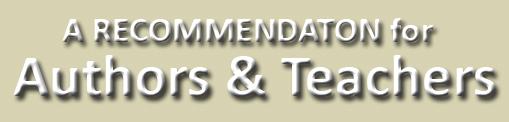 RECOMMENDATION-Authors-teachers