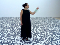 Harriete Estel Berman at the S. F. Museum of Modern Art