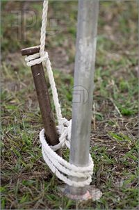 Stake for holding up White Tent