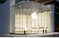 Apple white store