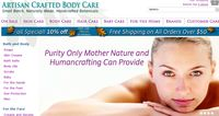 Human crafting Artisan Crafted Body Care