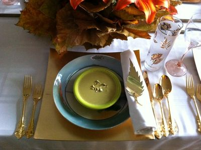Thanksgiving Tablesetting 2012