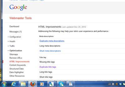 GoogleWebmasterHTML