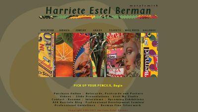 Harriete Estel Berman website HOME page